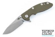 """Hinderer 3"""" XM-18 Slicer - OD Green G-10"""