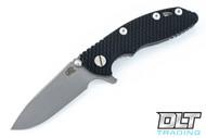 """Hinderer 3"""" XM-18 Slicer - Working Finish - Black G-10"""