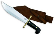 Case Bowie Fixed Blade w/ Leather Sheath