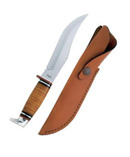 "Case Hunter 6"" Skinner Blade w Leather Handle"