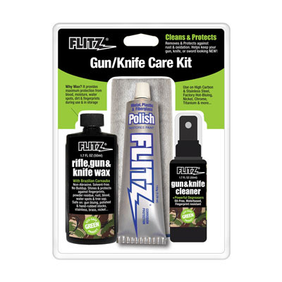 how to use flitz on guns