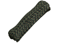 Woodland Camo 550 Paracord - 100 Feet