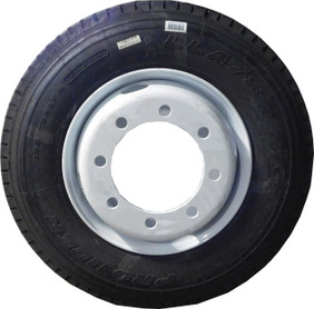 SALE: ST235/75 R17.5 18-Ply dual Tire and Rim Combo