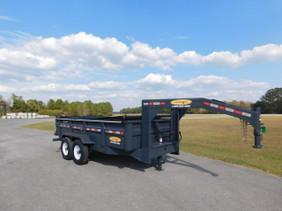 7 Ton Gooseneck Dump Trailer LG0714HE