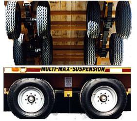 28,000 lb Super-Max Trailer Suspension