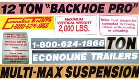 Decal Kit For Trailers