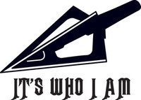 Arrow Head Decal HNT1-262 Vinyl Hunting Stickers