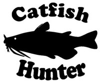 Catfish Hunter Decal MD CATFISH Fishing Stickers