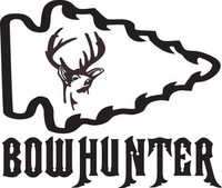 Bowhunter Deer Decal HNT1-220 Wildlife Window Stickers