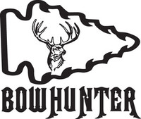 Bowhunter Deer Decal HNT1-218 Truck Hunting Window Stickers