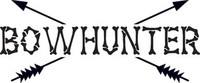 BowHunter Deer Decal HNT1-206 Wildlife Hunting Stickers