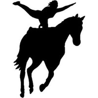 Equestrian Vaulting Decal ST2010S #003 Window Stickers