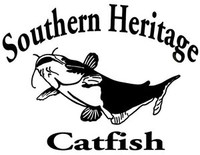 Southern Heritage Catfish Decal MD Window Stickers