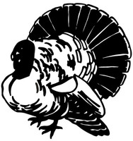 Turkey Hunting Decal WD-141 Truck Window Stickers