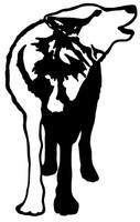 Wolf Decals and Wolf Stickers. Personalize any of our hunting decals with your choice of text, color and size.These are perfect for trucks, cars, windows, gun cabinets, 4-wheelers, boats, mailboxes or any clean semi-smooth surface. Show your passion for the outdoors. Free Shipping on all orders over $25.00