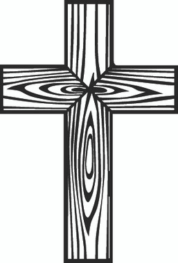 Cross Decal