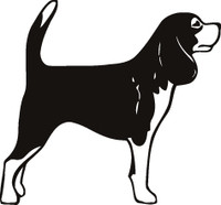 Dog Hunting Decals / Window Sticker