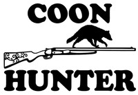 Awesome Coon Hunter Vinyl Decal/Window Sticker