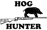 Hog Hunting Decals