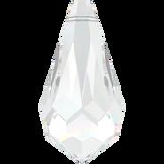 Swarovski Pendant 6000 - 11x5.5mm, Crystal (001), 6pcs