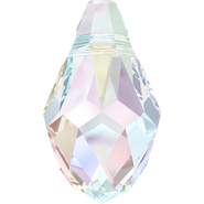 Swarovski Pendant 6007 - 7x4mm, Crystal Aurore Boreale (001 AB), 6pcs