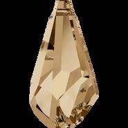 Swarovski Pendant 6015 - 13mm, Crystal Golden Shadow (001 GSHA), 2pcs