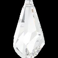 Swarovski Pendant 6015 - 17mm, Crystal (001), 2pcs