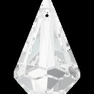 Swarovski Pendant 6022 - 14mm, Crystal (001), 2pcs