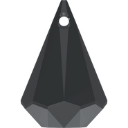 Swarovski Pendant 6022 - 14mm, Jet (280), 2pcs