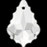 Swarovski Pendant 6090 - 16x11mm, Crystal (001), 2pcs