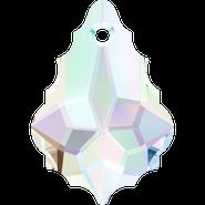 Swarovski Pendant 6090 - 16x11mm, Crystal Aurore Boreale (001 AB), 2pcs