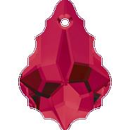 Swarovski Pendant 6090 - 16x11mm, Ruby (501), 2pcs