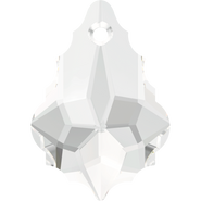 Swarovski Pendant 6090 - 22x15mm, Crystal (001), 2pcs