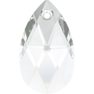 Swarovski Pendant 6106 - 16mm, Crystal (001), 2pcs