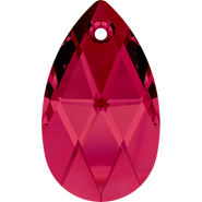 Swarovski Pendant 6106 - 16mm, Ruby (501), 2pcs