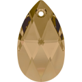 Swarovski Pendant 6106 - 22mm, Crystal Bronze Shade (001 BRSH), 2pcs