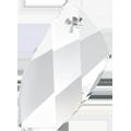 Swarovski 6620 - 20mm, Crystal (001), 2pcs