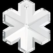 Swarovski Pendant 6704 - 20mm, Crystal (001), 2pcs