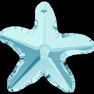 Swarovski Pendant 6721 - 16mm, Aquamarine (202), 2pcs