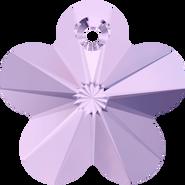 Swarovski Pendant 6744 - 14mm, Violet (371), 4pcs