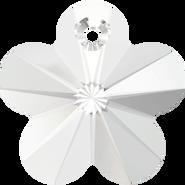 Swarovski Pendant 6744 - 18mm, Crystal (001), 2pcs