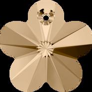 Swarovski Pendant 6744 - 18mm, Crystal Golden Shadow (001 GSHA), 2pcs