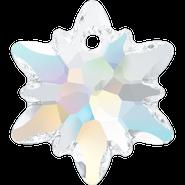 Swarovski Pendant 6748 - 14mm, Crystal Aurore Boreale (001 AB), 2pcs