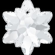 Swarovski Pendant 6748 - 18mm, Crystal (001), 2pcs