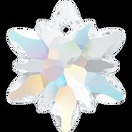Swarovski Pendant 6748 - 18mm, Crystal Aurore Boreale (001 AB), 2pcs