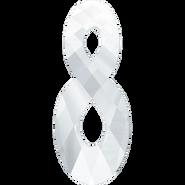 Swarovski Pendant 6792 - 18mm, Crystal (001), 2pcs