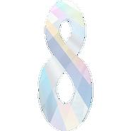 Swarovski Pendant 6792 - 18mm, Crystal Aurore Boreale (001 AB), 2pcs