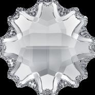 Swarovski Flatback 2612 - 6mm, Crystal (001) Foiled, No Hotfix, 4pcs
