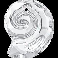 Swarovski Pendant 6731 - 14mm, Crystal (001), 2pcs