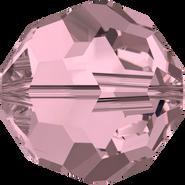 Swarovski Bead 5000 - 8mm, Crystal Antique Pink (001 ANTP), 12pcs